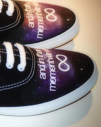 Galaxy Print Sneaker