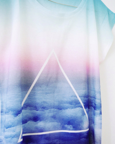 Sky Triangle Shirt