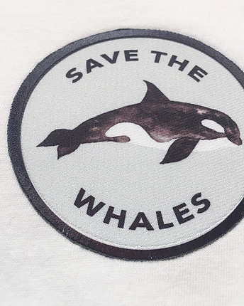 Save the whales Ringer T-Shirt