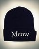 Meow beanie 222 small