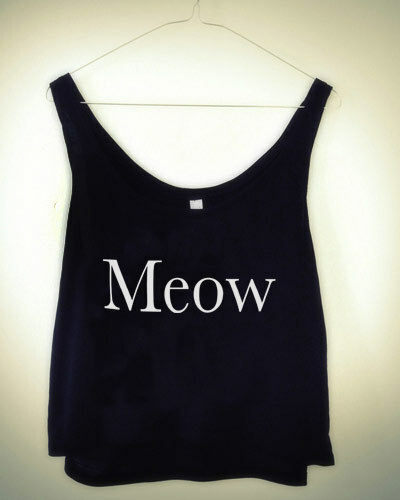 Meow! Shirt - LAST CHANCE
