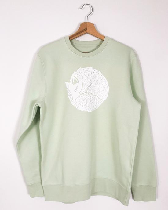 Sleeping Fox Sweater Set for mum & child