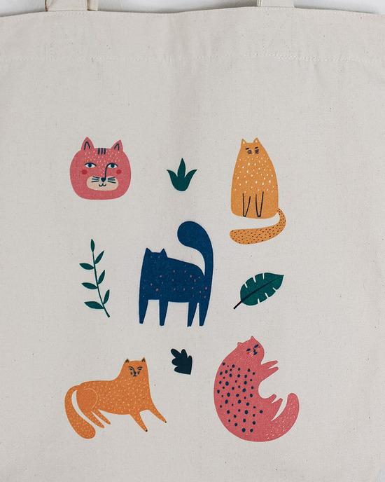 Cats & Plants Beutel