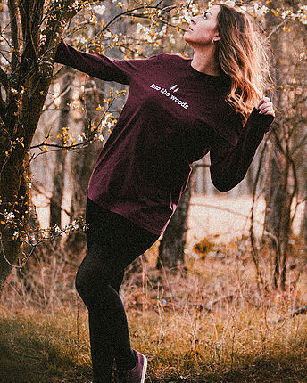 Into the woods Longsleeve