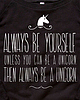 Always be a unicorn 238 small