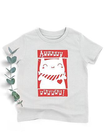 AWW kitty shirt