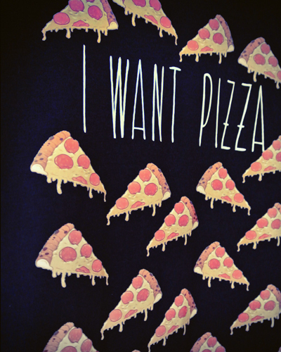 I Want Pizza Top