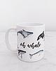 Whale mug 713 small