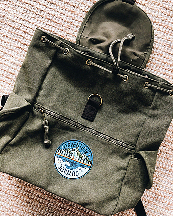 Canvas Adventure backpack