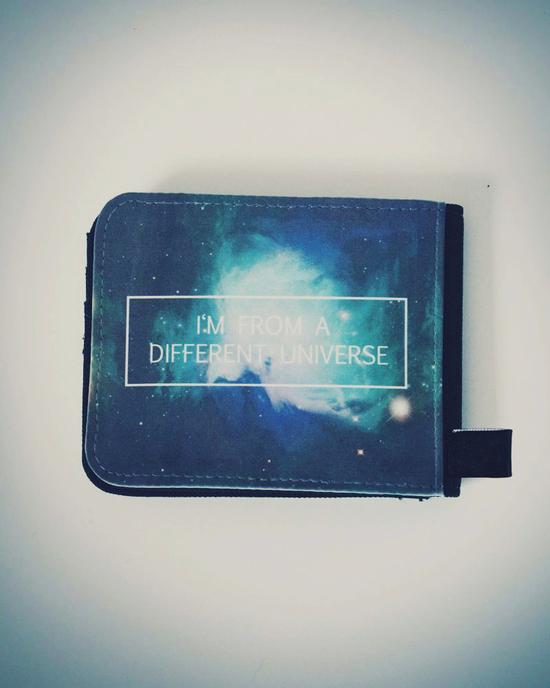 Galaxy Portmonee