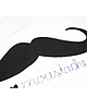 Moustache tee 92 small