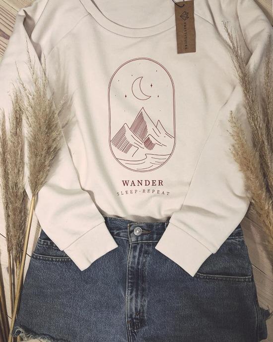 Wander Sleep Repeat Sweatshirt