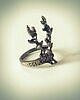 Vintage deer ring 305 small