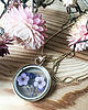 Dried flower necklace 1315 small