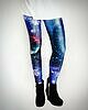 Galaxy leggings blue 209 small
