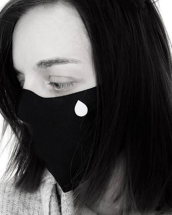 Gesichtsmaske Tear