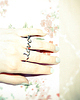 Love ring for two fingers 88 small