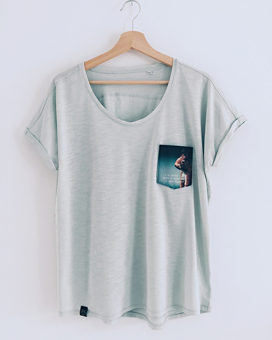 Squirrel pocket t-shirt