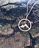 Mountains necklace 910 small