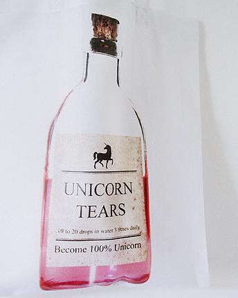 Unicorn Tears Tasche