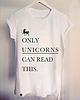 Only unicorns can read this 311 small