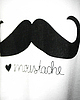 Moustache cropped top 71 small