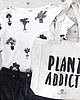 Plants addict allover print shirt 1066 small