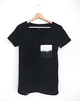 Forest pocket t-shirt