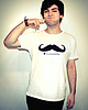 Moustache tee 137 small