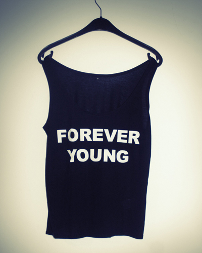 Forever Young schwarz