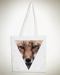 Triangle Fox Totebag