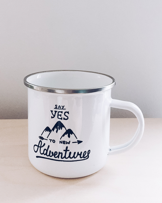 Enamel mug Adventures
