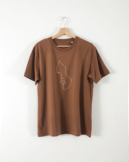 Line Art Face Shirt