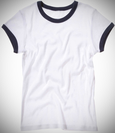 Ringer shirt 75 medium